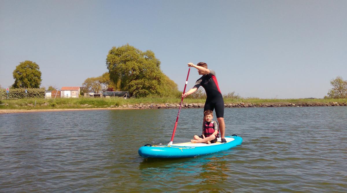 stand up paddle saint hilaire nautisme
