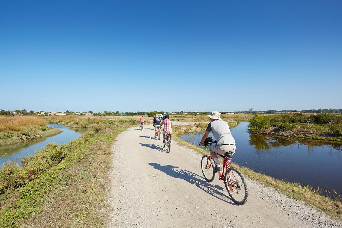 Vélo_Côté mer côté marais_©A. Lamoureux