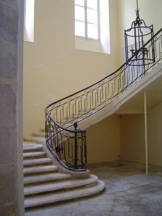 escalier à jour (18e s.) (privé) Lespinay de Beaumont