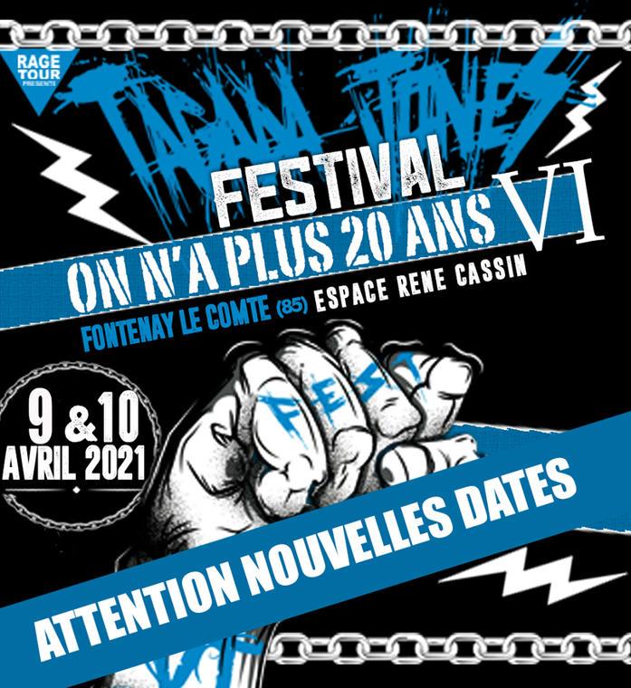 festival on a plus 20 ans fontenay-le-comte 2020-reporté-avril-2021