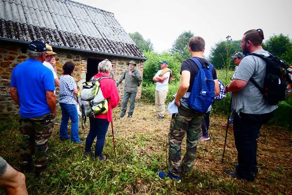 Une randonnée conférence historique par Pasccal Boillet