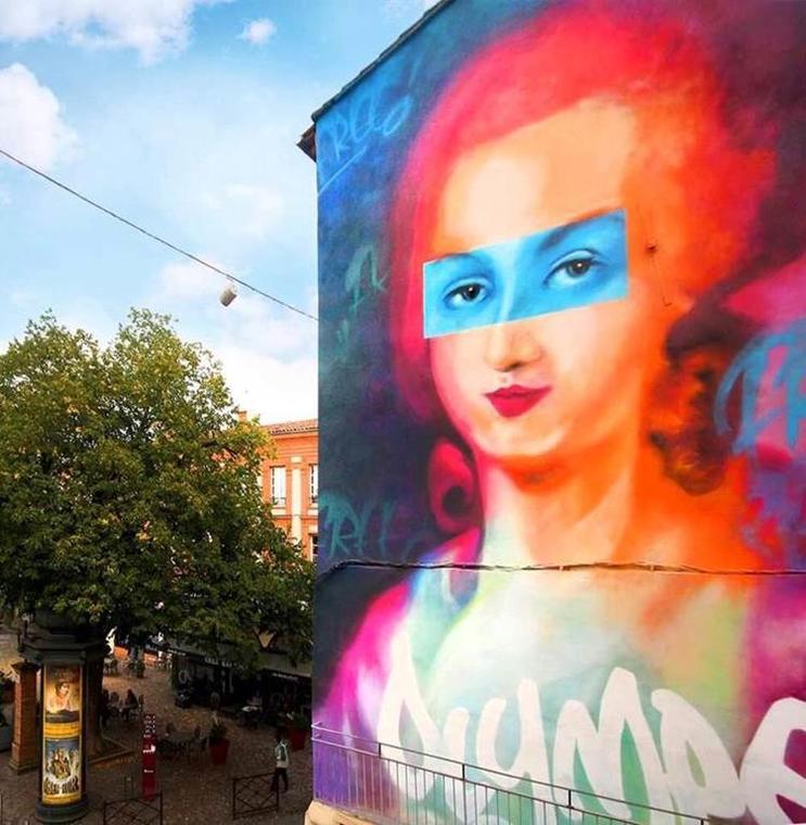 Street art à Montauban #O2G