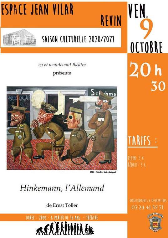 Hinkemann, l'Allemand