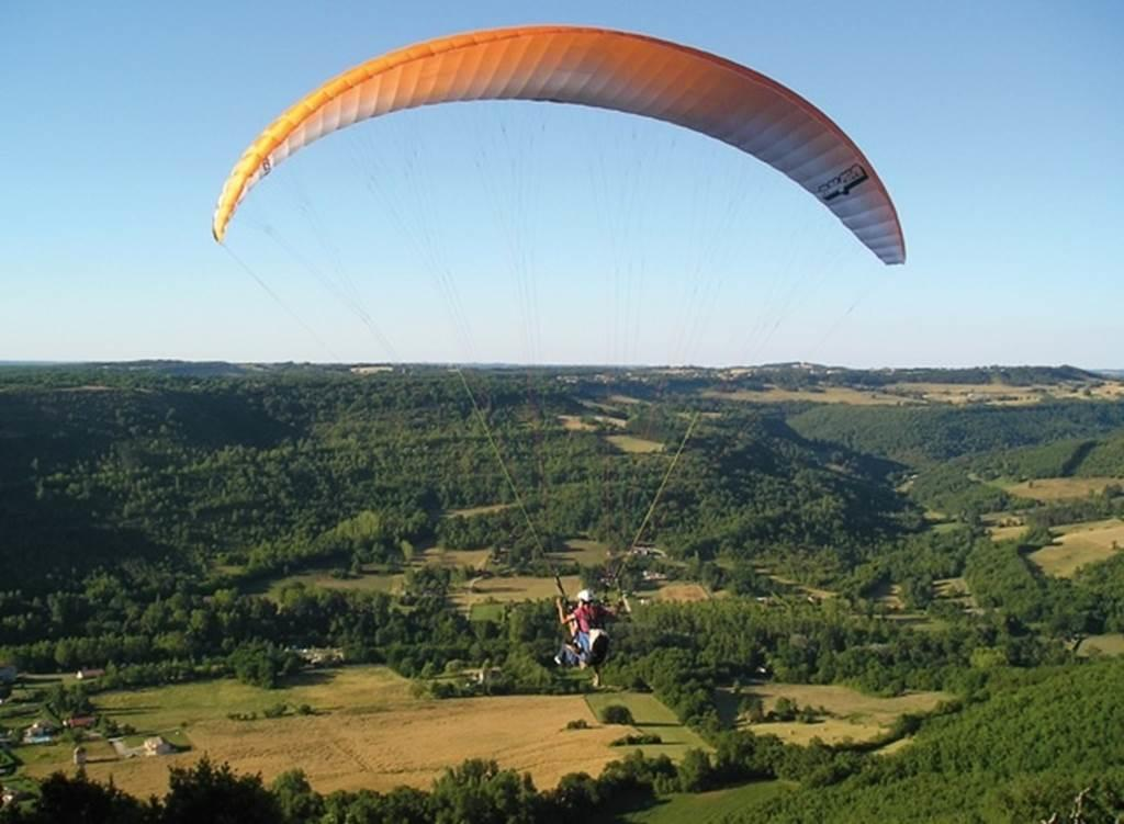 Parapente Gorges Aveyron