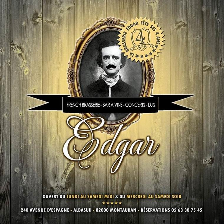 Brasserie Edgar Montauban - logo