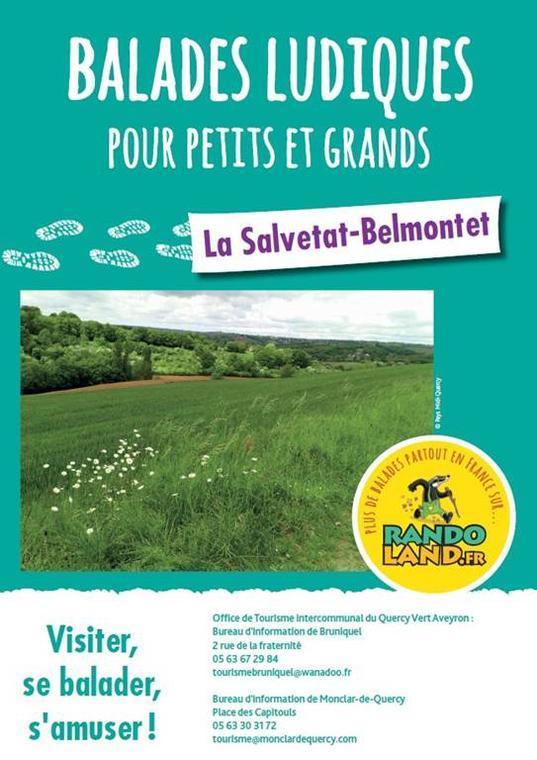 Randoland La Salvetat Belmontet
