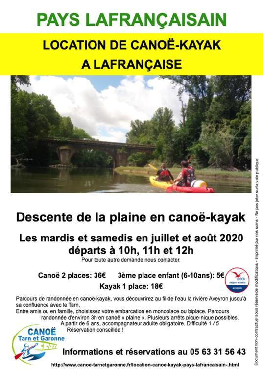 Canoë-Kayak Lafrançaise