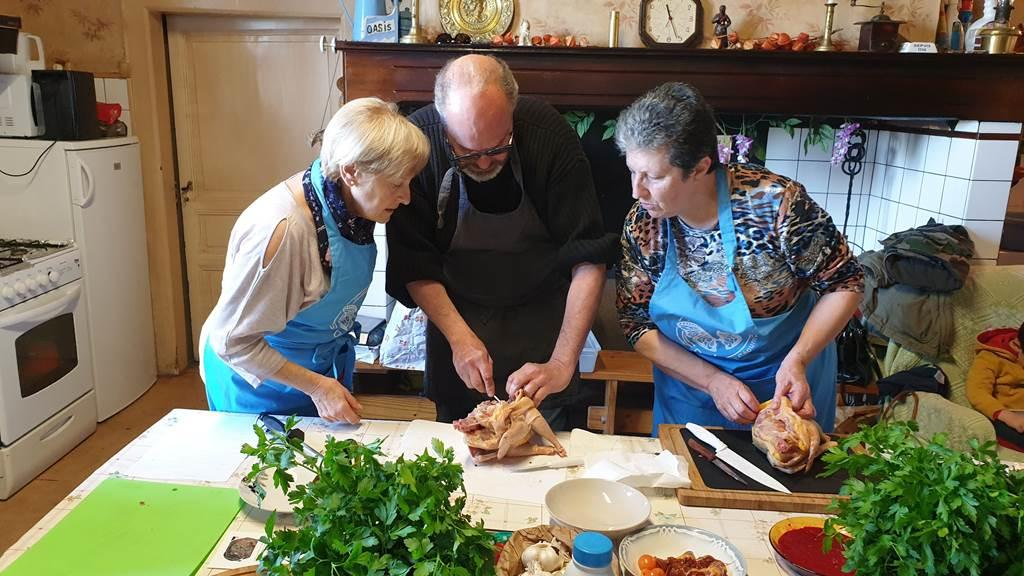 atelier de cuisine oasis en seoune
