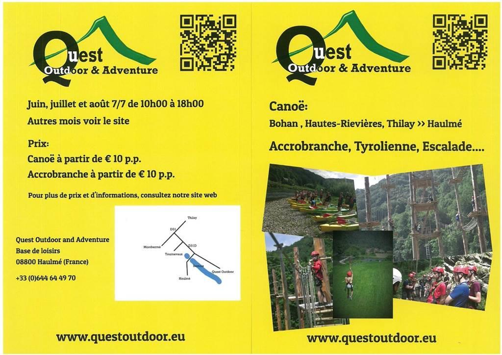 Quest Adventure & Outdoor à Haulmé