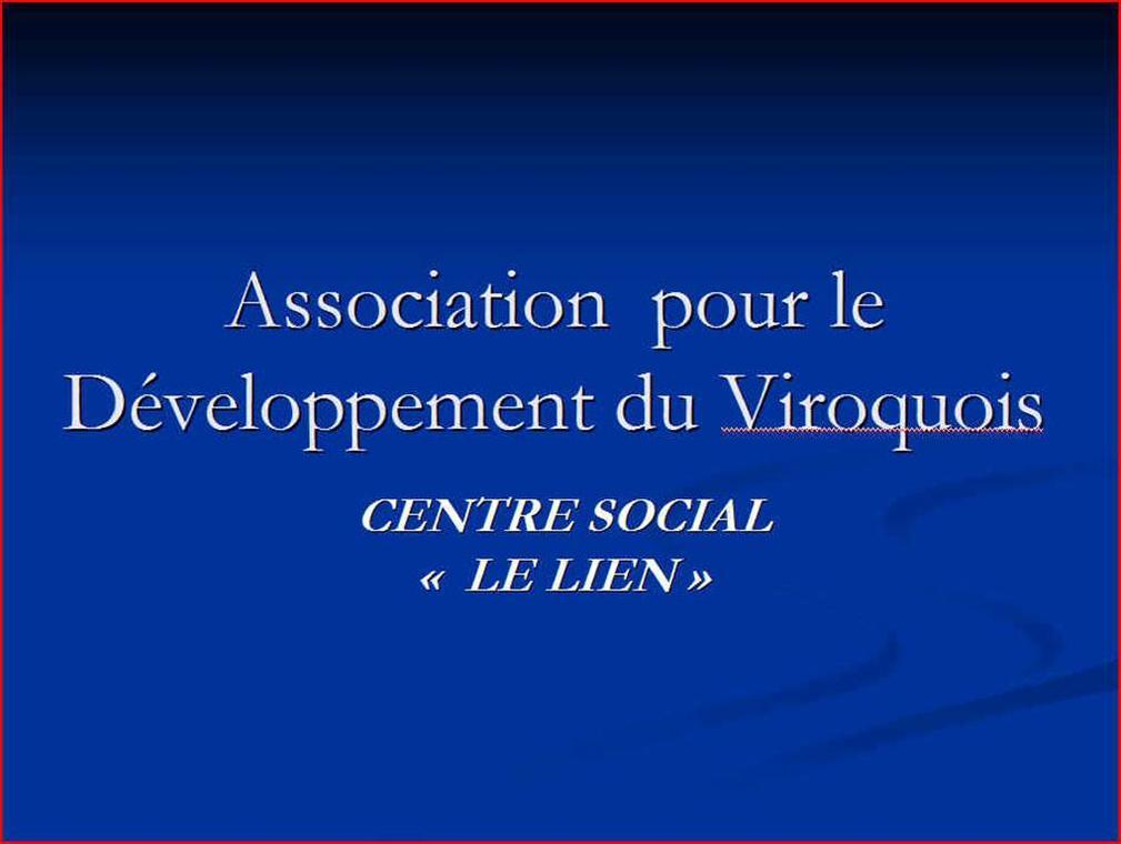 "Centre socio-culturel ""Le Lien"""