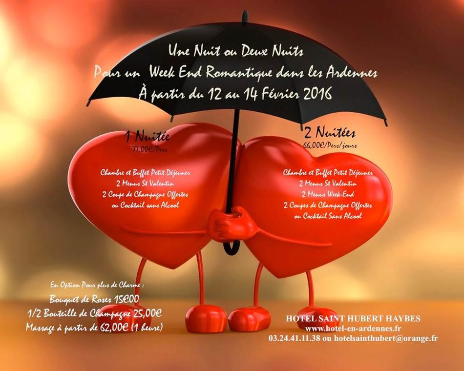 Saint-Valentin au Saint Hubert