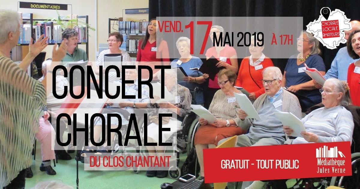 Concert chorale du Clos Chantant