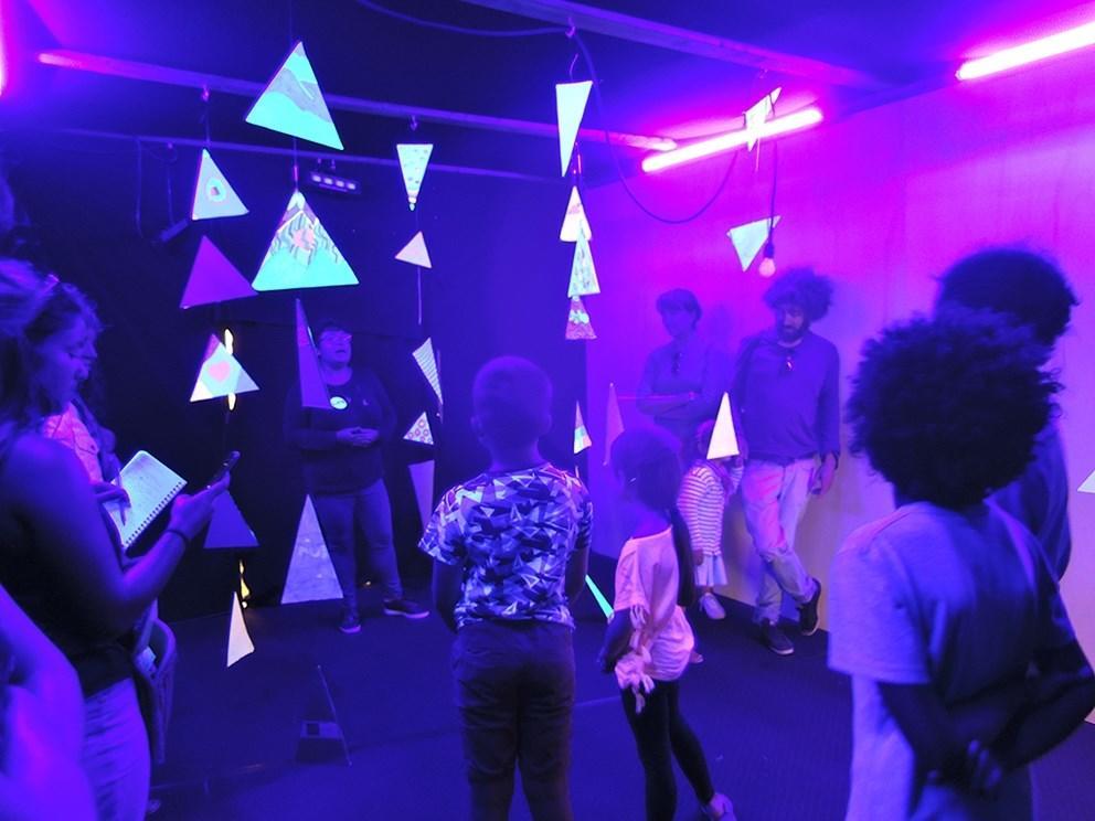 Atelier Shape Invaders, Radôme, été 2019
