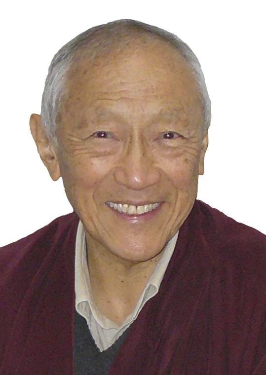 Notre lama référent, le maître tibétain Dagpo Rimpotché.