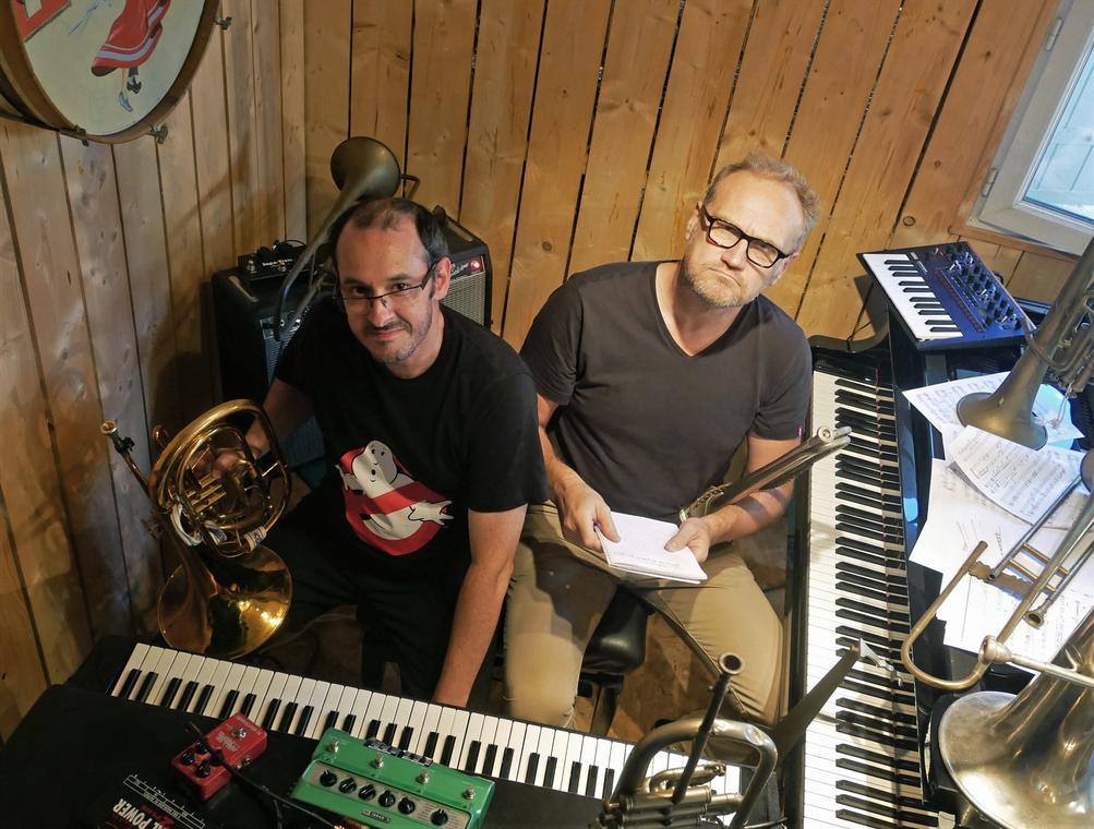 Victor Michaud et Guillaume Hazebrouck