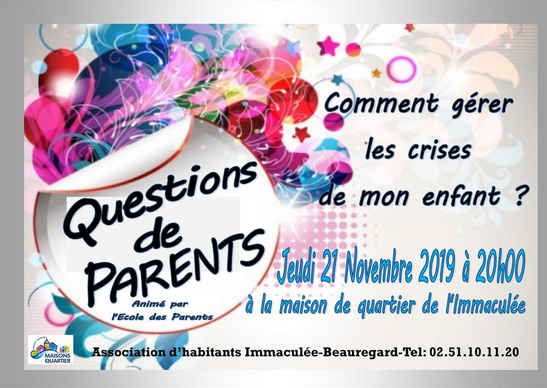 Questions de Parents