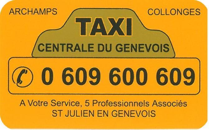 Centrale Taxi du Genevois
