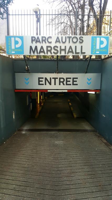 nice azur parking marshall
