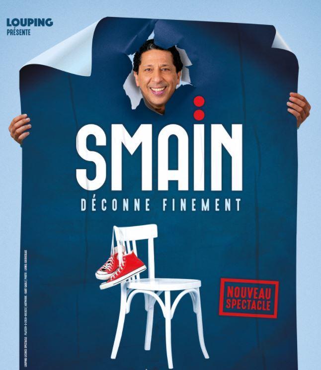 Smaïn spectacle La Crau