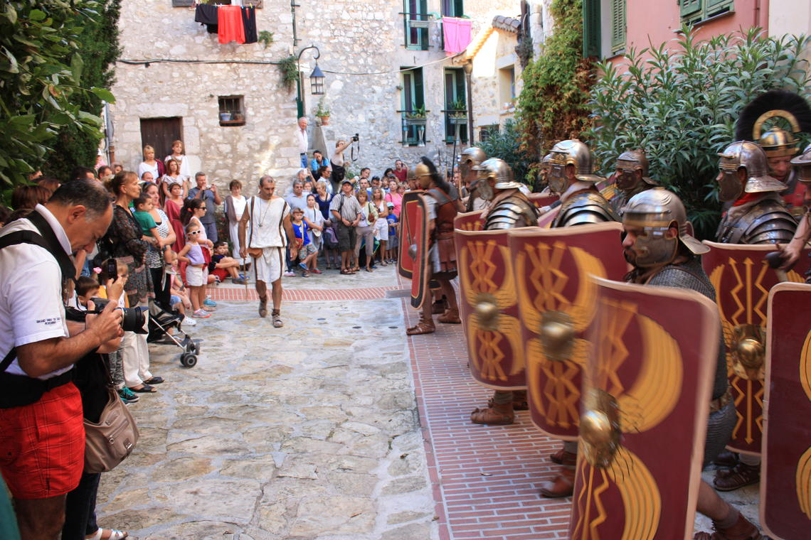 Journée Romaine à La Turbie 2015