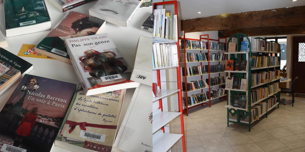 Bibliothèque Meillonnas