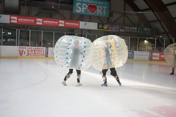 Bubble foot glace
