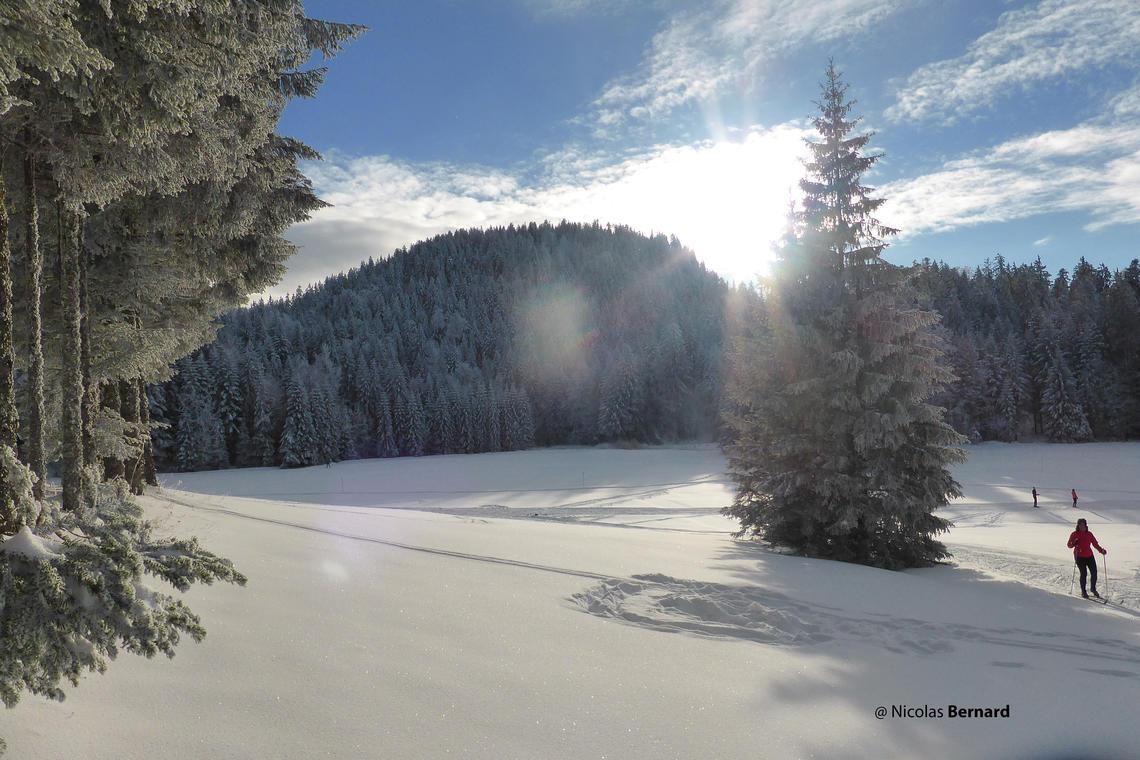 Station de ski nordique - La Ruchère