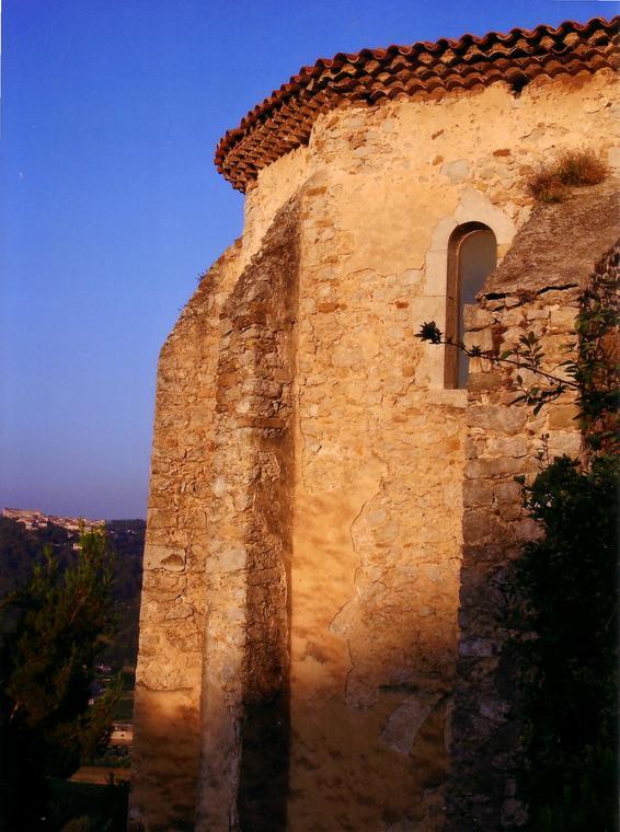 Chapelle Sainte Madeleine coucher de soleil