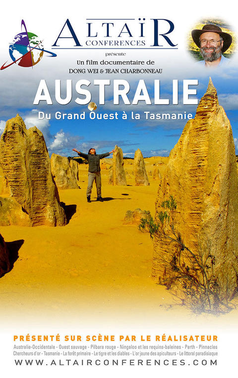 Ciné conférence Altair sur l'Australie