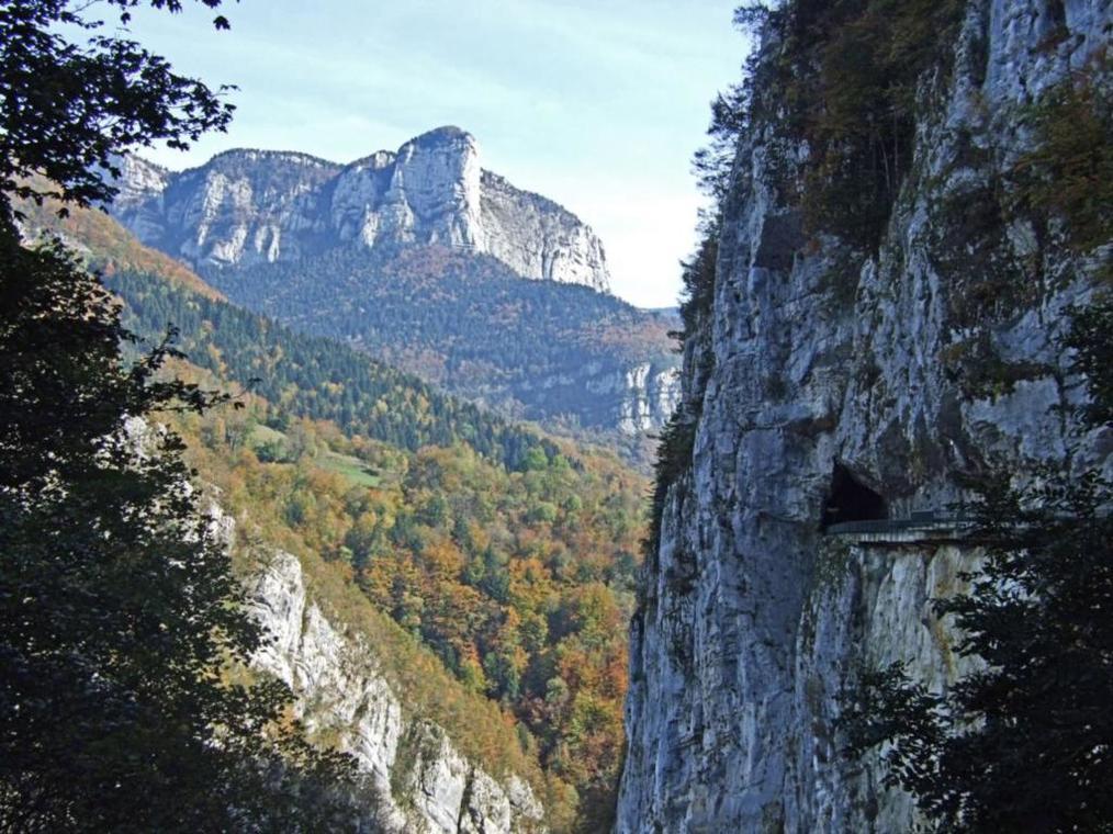 Les gorges du Frou - St Pierre d'Entremont