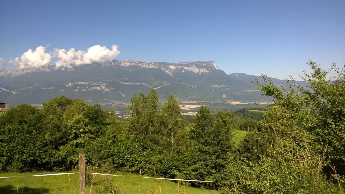 Point de vue sur le massif de Chartreuse