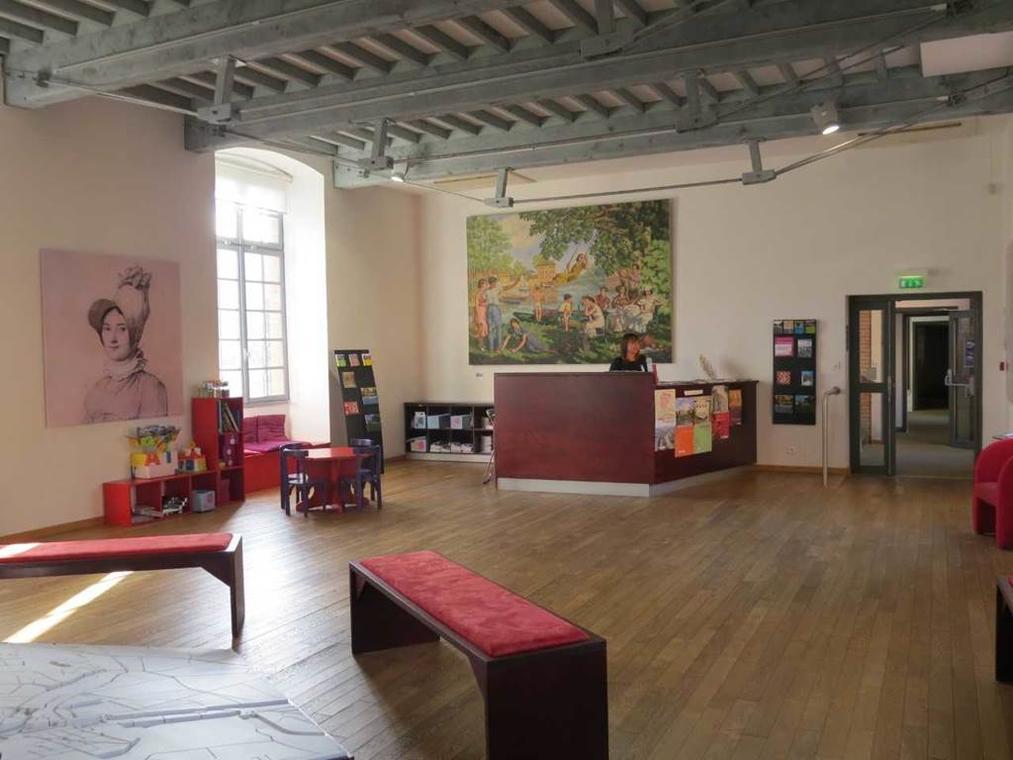 Les petits explorateurs au Centre d'interprétation de l'architecture et du patrimoine Montauban Tarn-et-Garonne