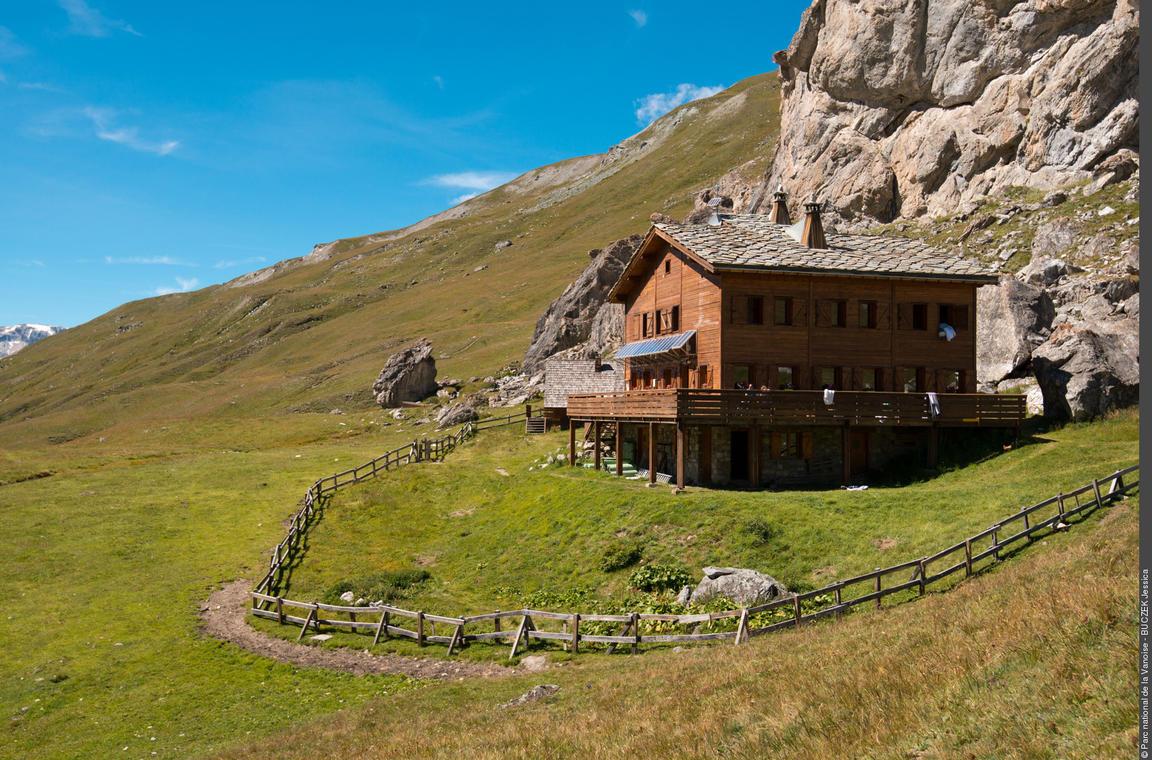 Parc national de la Vanoise-Refuge de la Femma