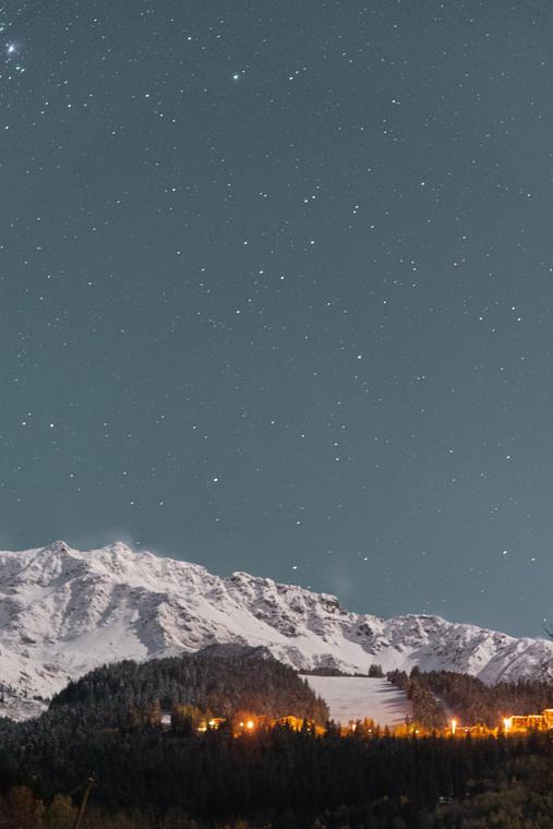 Prapoutel sous les étoiles