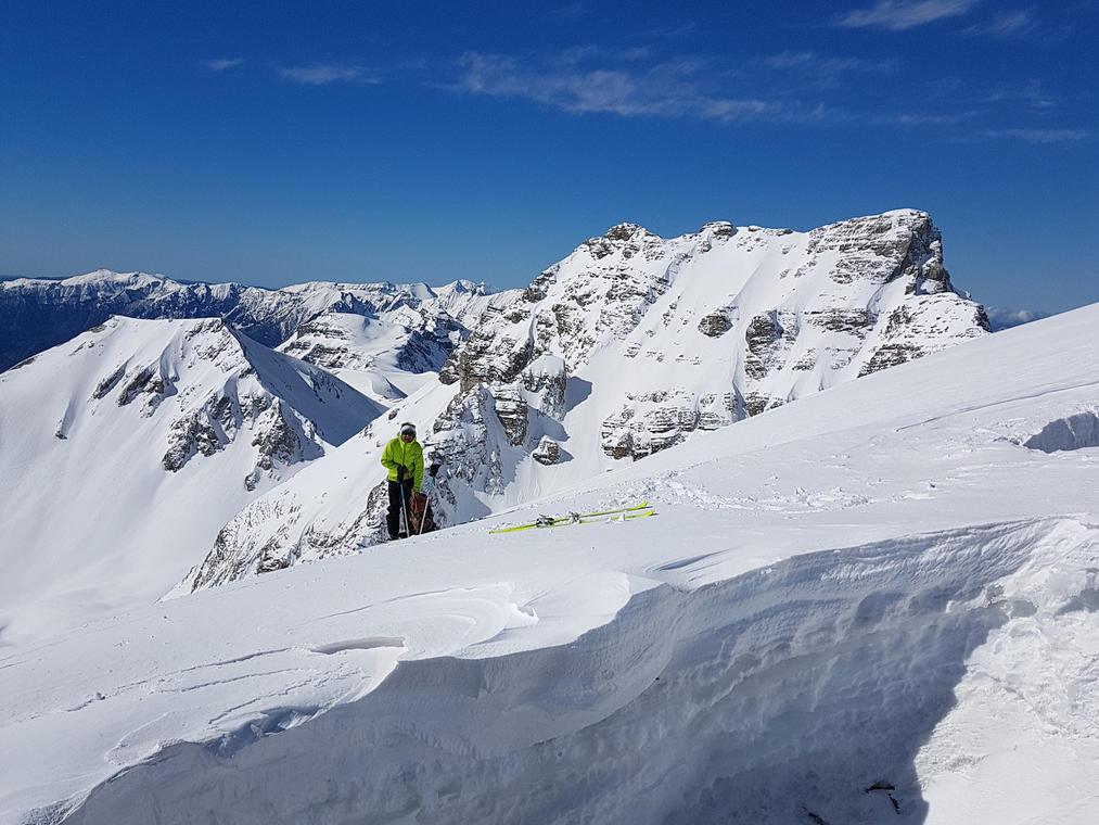 eJacques Le Hir : ski de randonnée
