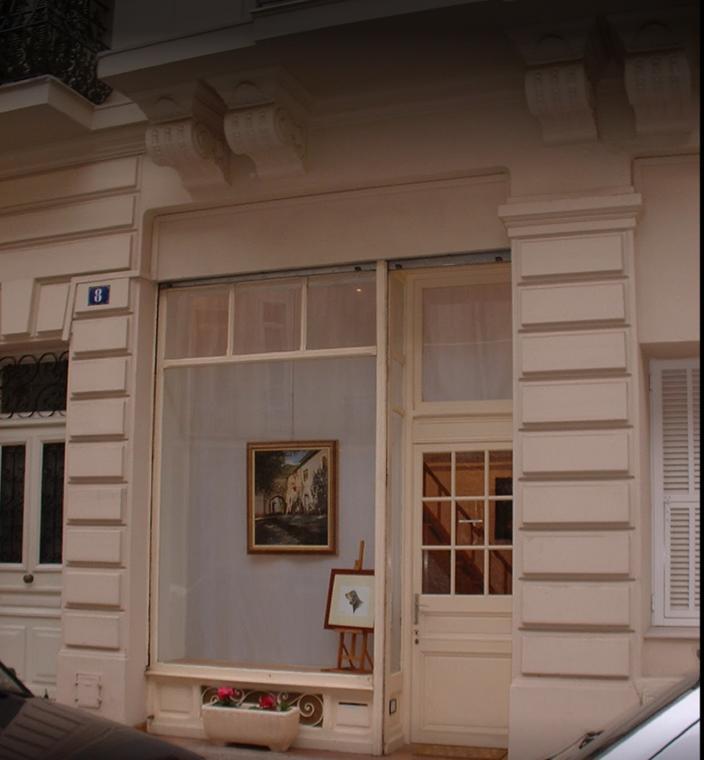 Atelier de peinture Patricia Michelatti