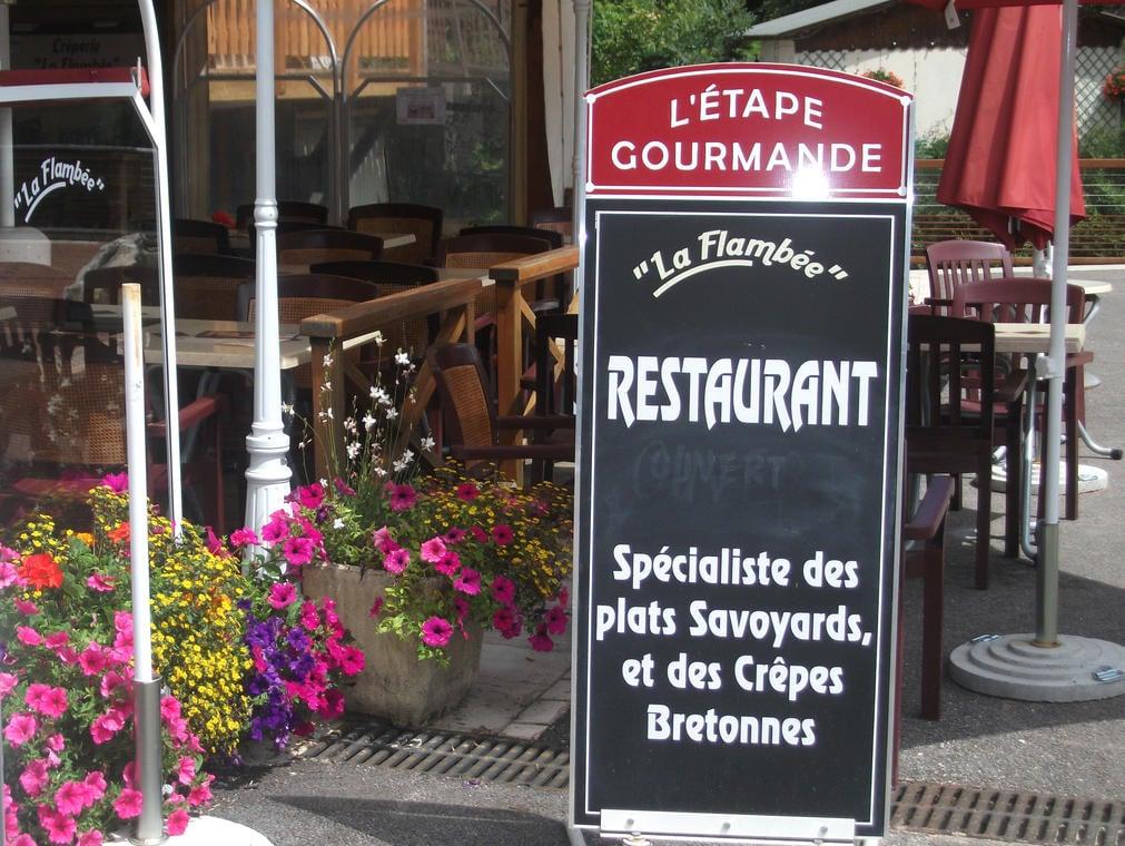 Restaurant le Flambée - St Pierre d'Entremont