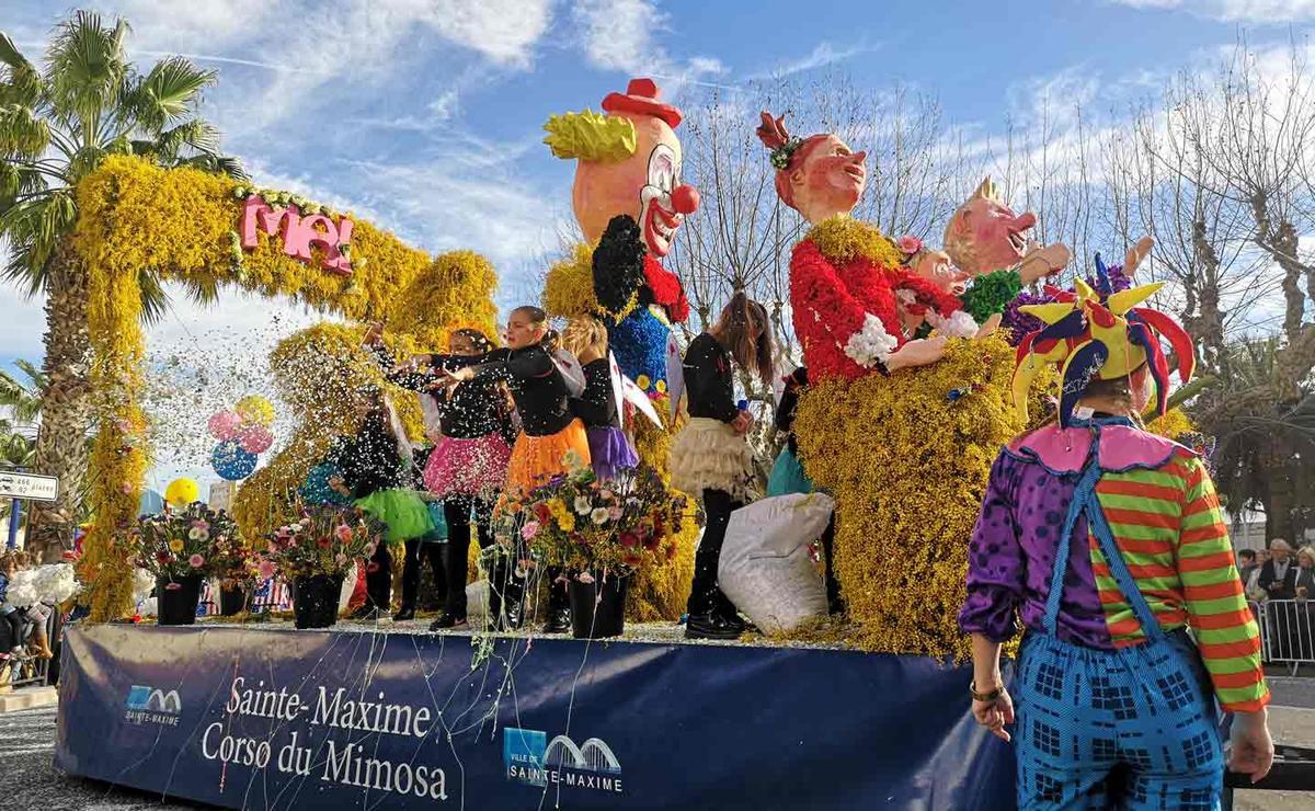 Corso du Mimosa Sainte-Maxime