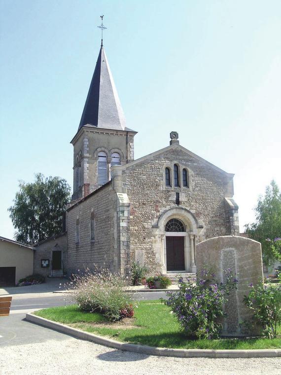 Église Montracol_Crédit Bourg en Bresse Agglomération