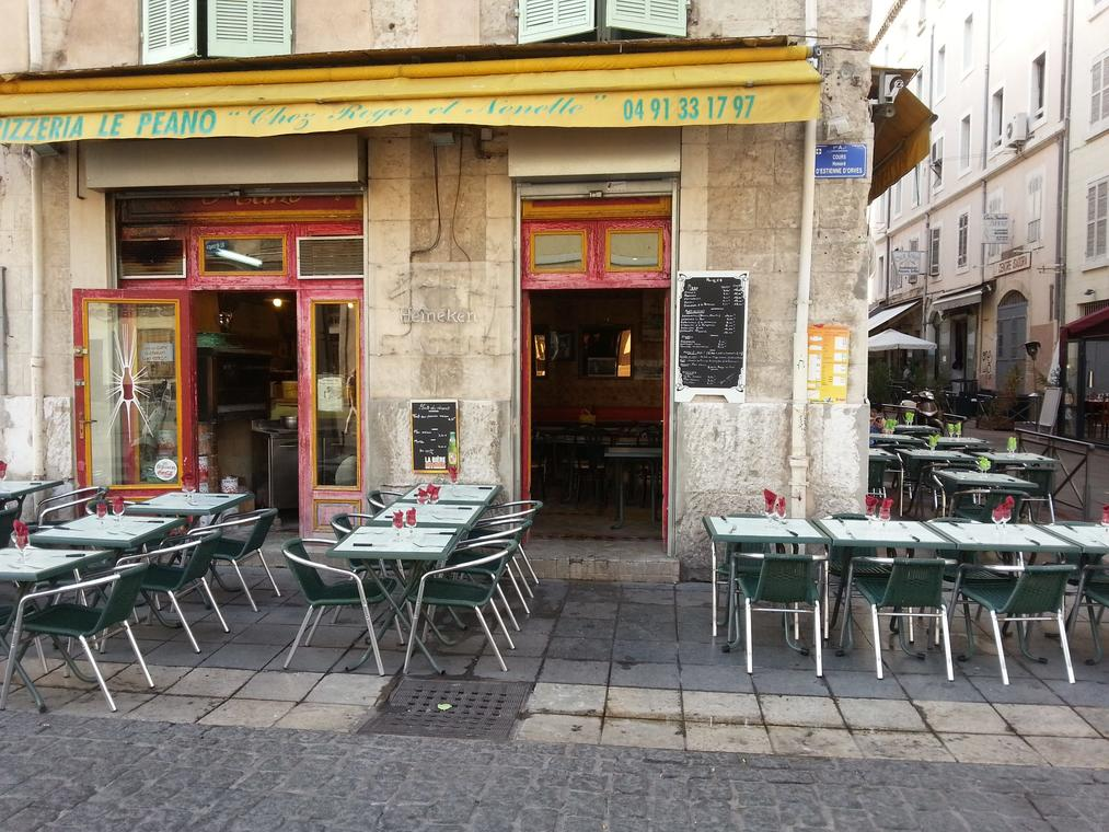 Restaurant le Nouveau Peano Marseille