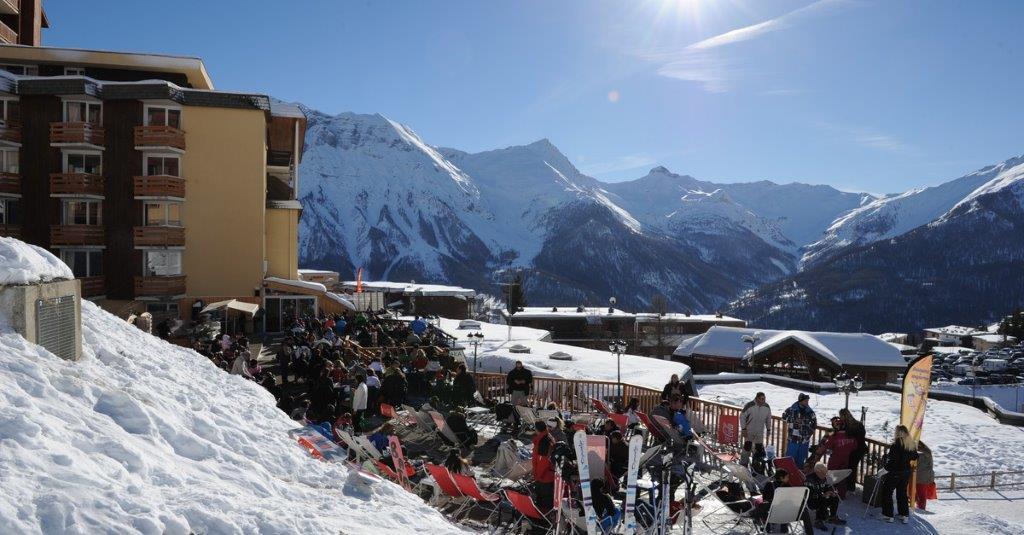 Alpaka terrasse 1