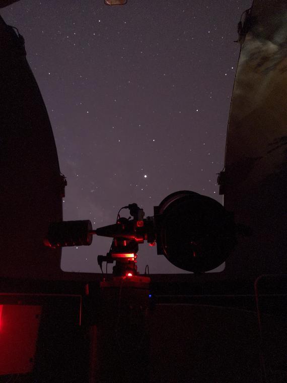 Observatoire pic des fées Hyères