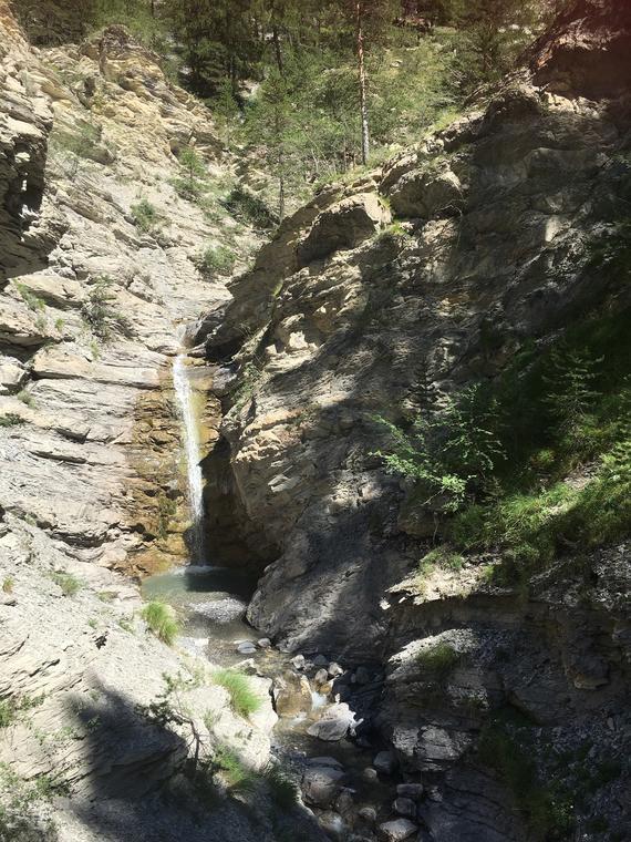 Cascade dans les Gorges de St Pierre