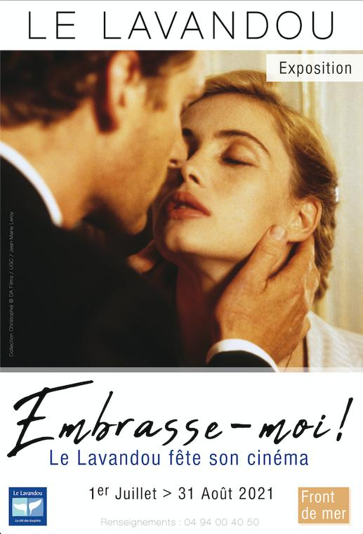 Affiche exposition Embrasse-moi