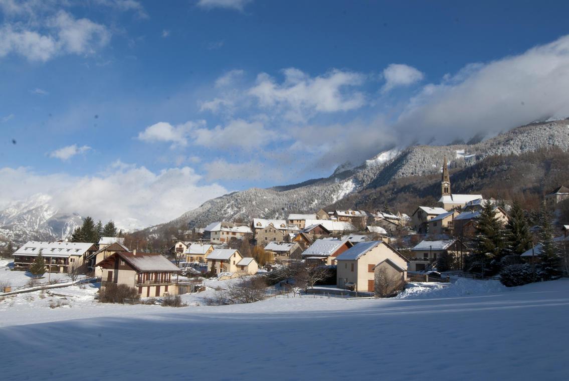 Village de St Léger-les-Mélèzes