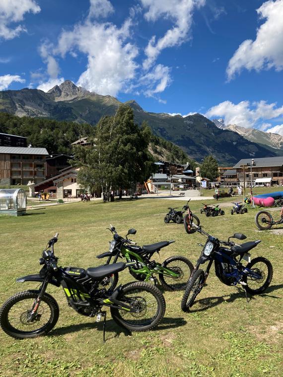 Location de moto électriques à La Norma