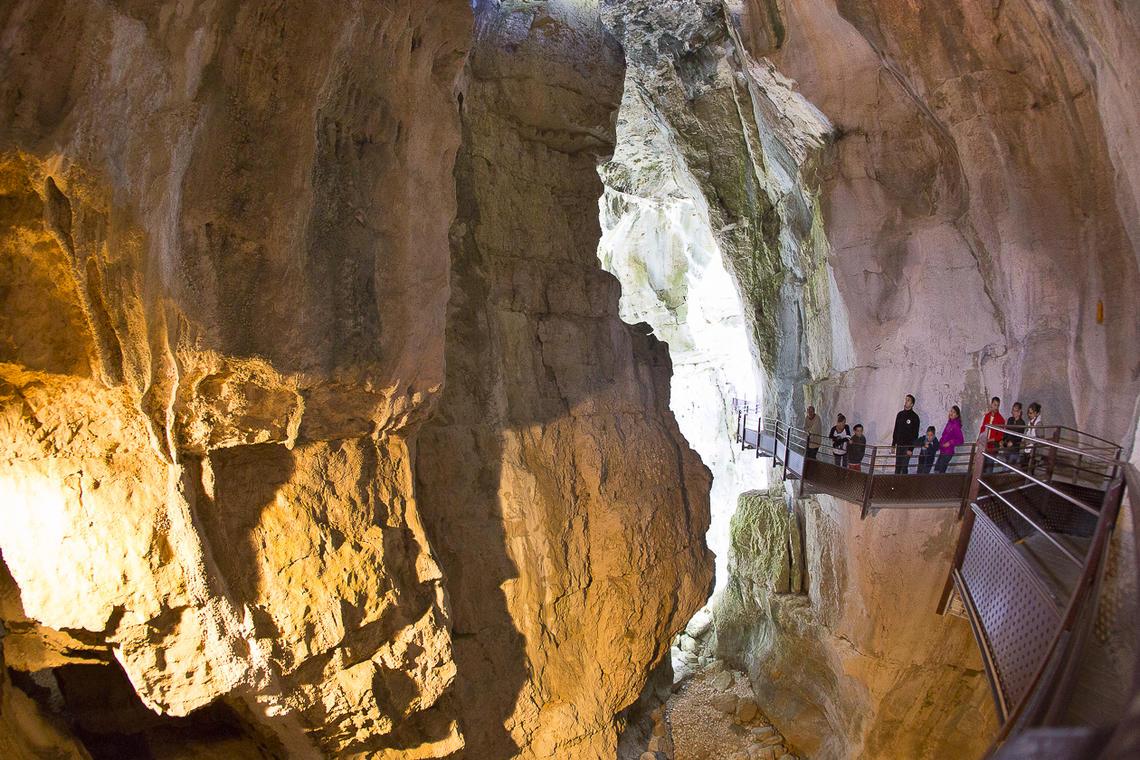 Grottes Saint Christophe