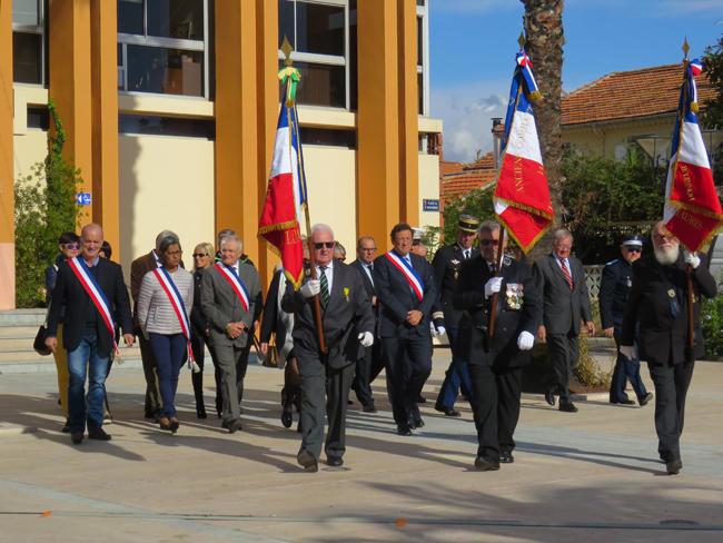 Les cérémonies patriotiques à La Londe les Maures