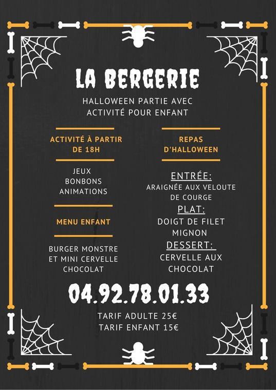 Halloween parti à la Bergerie