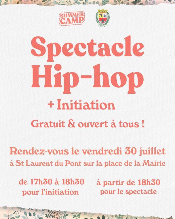 spectacle de Hip-hop